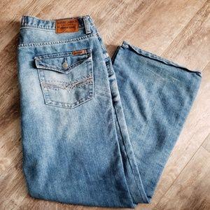 Seven7 Premium Denim Boot Fit Blue Jeans 38W/32L
